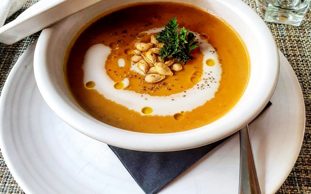 Senior Sous Chef shares his favourite Autumnal Soup