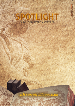 April Spotlight is OUT