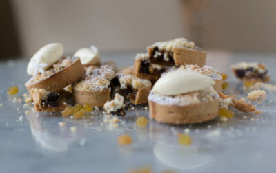 Mmmm … Mince Pies by The Grove's Executive Pastry Chef Ryan.