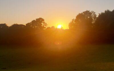 Summer Solstice Sarratt Sunset