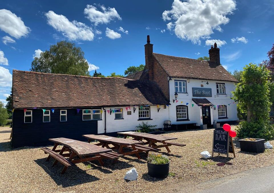 Our lovely local and much loved Pub – The Boot has an update!