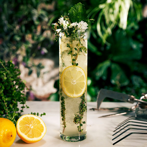 Cocktail Hour: Elderflower Collins