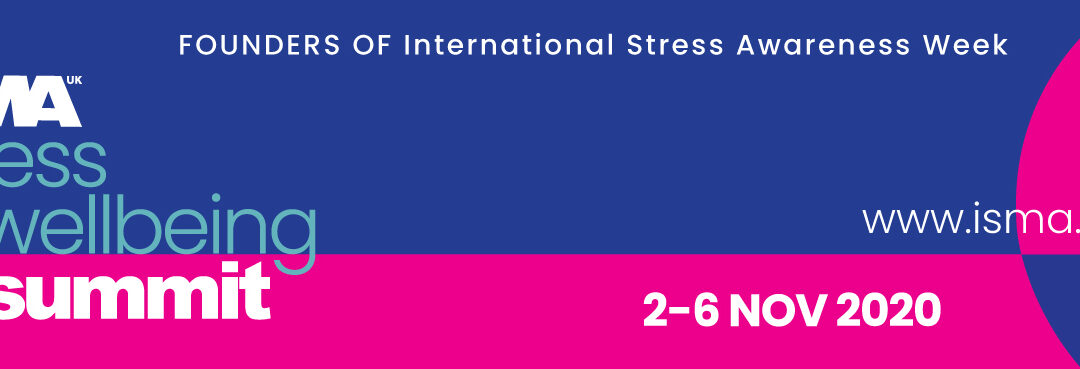 Stress & WellBeing Summit 2020 from ISMA