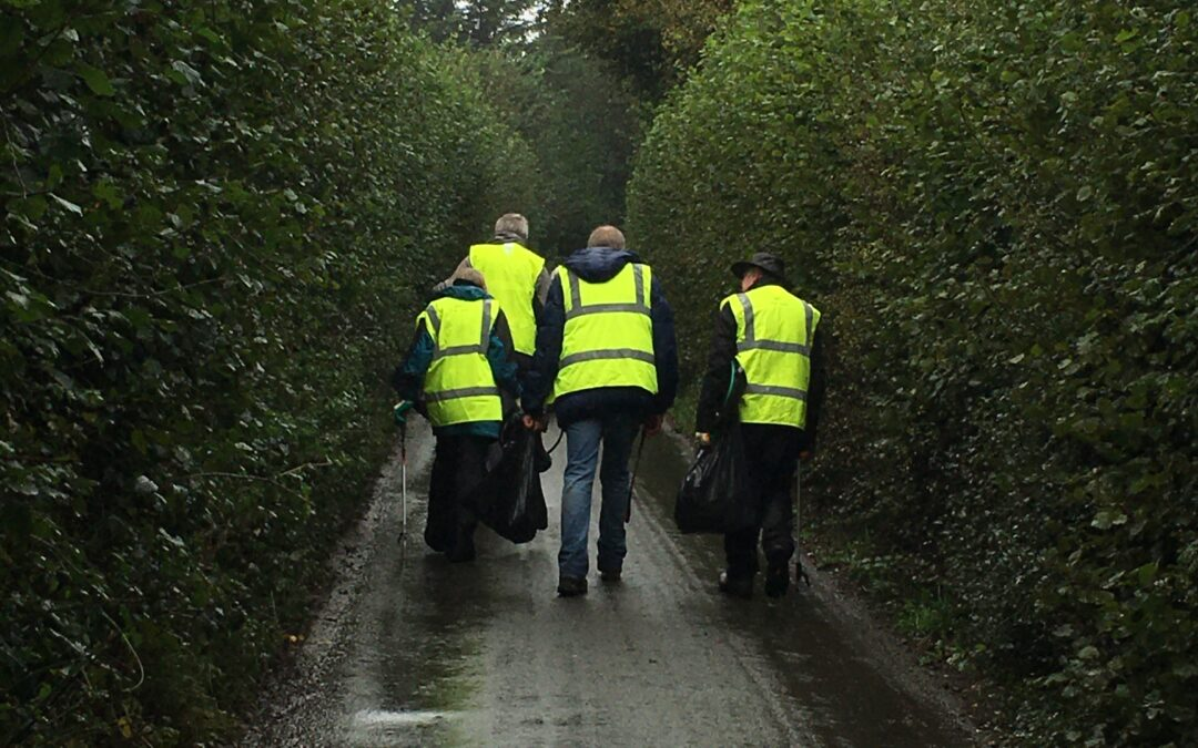 Litter Picking Angels in our midst….