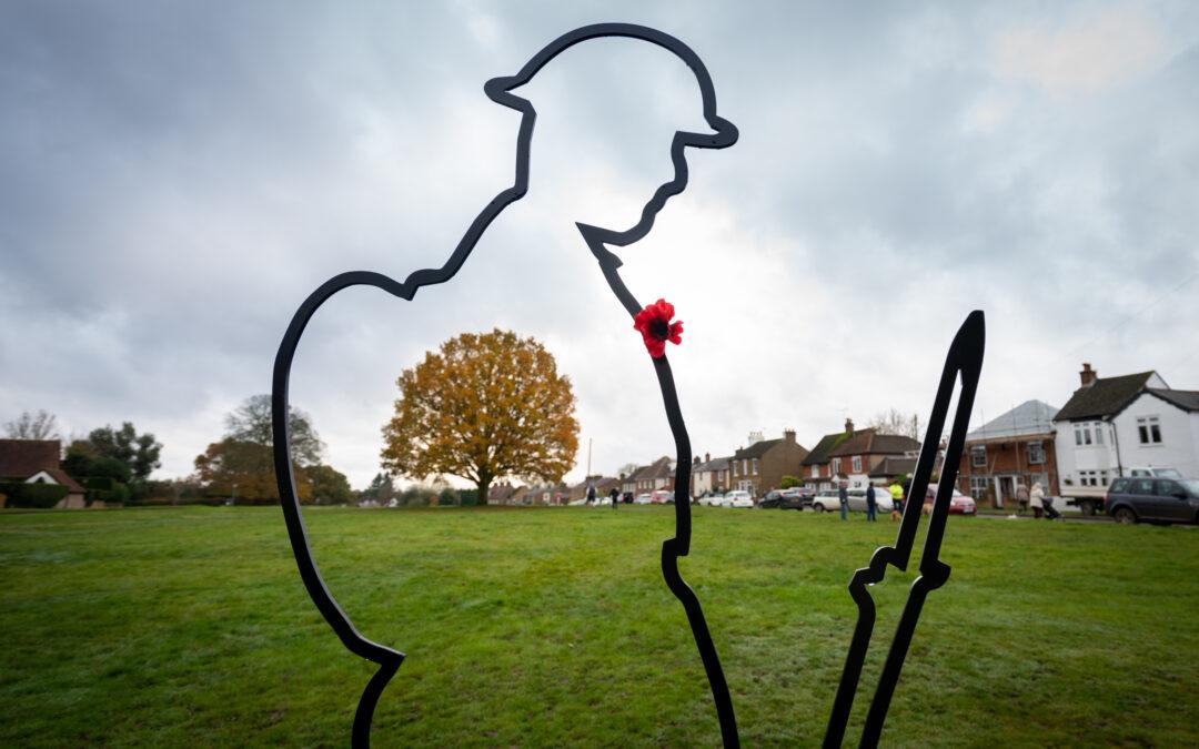 Armistice Day 2020, Remembering them …