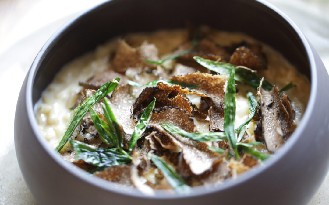 Recipe: Wild Mushroom and Truffle Risotto
