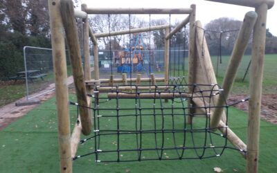 New Play Equipment for the KGV playground