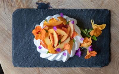 Recipe: Floral Pavlova