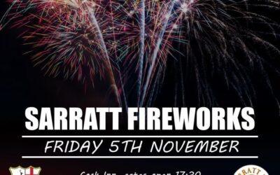 Sarratt Fireworks 5th November